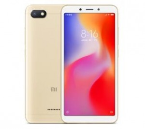 TELEFON SMARTFON XIAOMI REDMI 6A 2/16GB złoty GLOBAL VERSION FVAT23% Łódź
