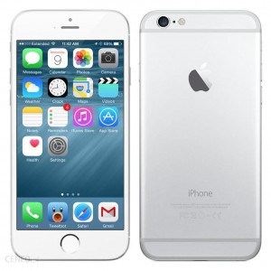 APPLE IPHONE 6S 16GB SREBRNY FVAT23% ŁÓDŹ refurb