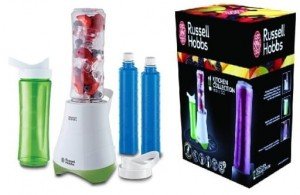 Blender RUSSELL HOBBS MIX & GO 21350-56 zielony  , blender do koktajli