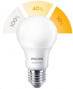 Żarówka LED Philips SceneSwitch LED 8W ->60W LD