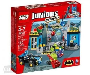 Klocki Lego Juniors Batman: Obrona jaskini 10672 Batman: Defend The Batcave SKLEP 24H ŁÓDŹ FVAT23%