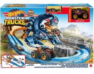 Hot Wheels Monster Trucks Tor Skorpion GNB05