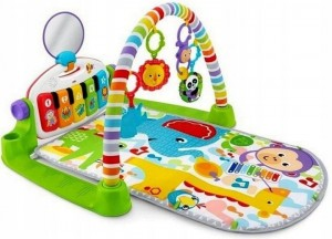 Fisher Price Mata z pianinkiem zwierzątka FWT13