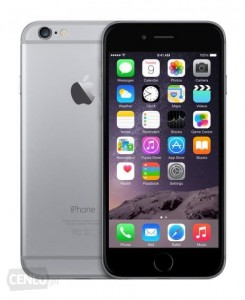APPLE IPHONE 6 16GB GWIEZDNA SZAROŚĆ FVAT23% ŁÓDŹ