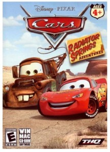 GRA PC Pixar Cars: Radiator Springs Adventures LDZ