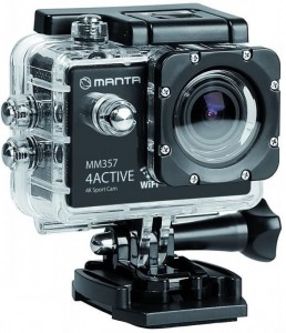 KAMERA SPORTOWA MANTA 4K MM357 4ACTIVE