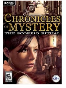 GRA PC Chronicles of Mystery: The scorpio ritual
