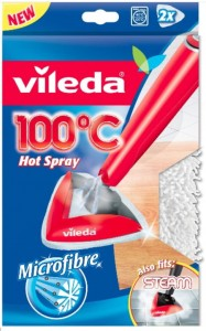 WKŁAD DO MOPA PAROWEGO VILEDA STEAM HOT SPRAY 2SZT