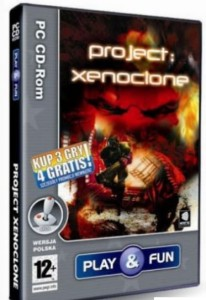 GRA PC PROJECT XENOCLONE PLAY&FUN FVAT23% ŁÓDŹ