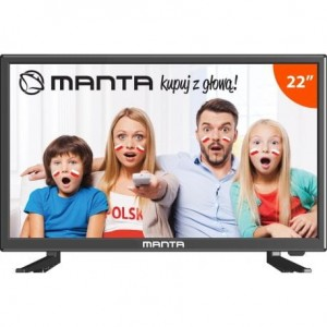 MANTA 22 LED Full HD 22LED220Q7 AKU 12V TIR ŁÓDŹ
