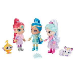FISHER PRICE FHN24 SHIMMER AND SHINE 3 LALKI ŁÓDŹ