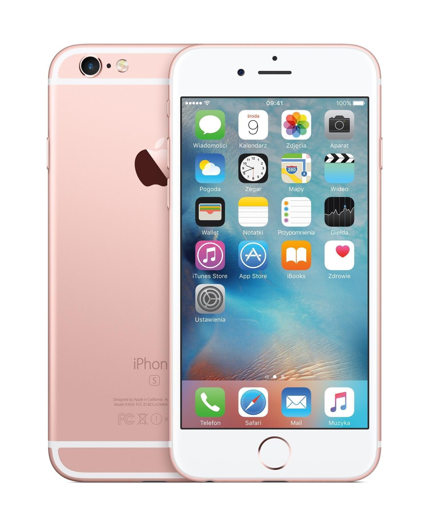 Iphone 6s 32gb Różowe Złoto Refurbished Sklep 24h łódź Sea Bis P H U Zbigniew Prochuń